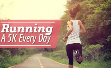 running a 5k every day